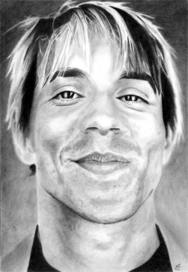 Anthony Kiedis par marcusfearnley